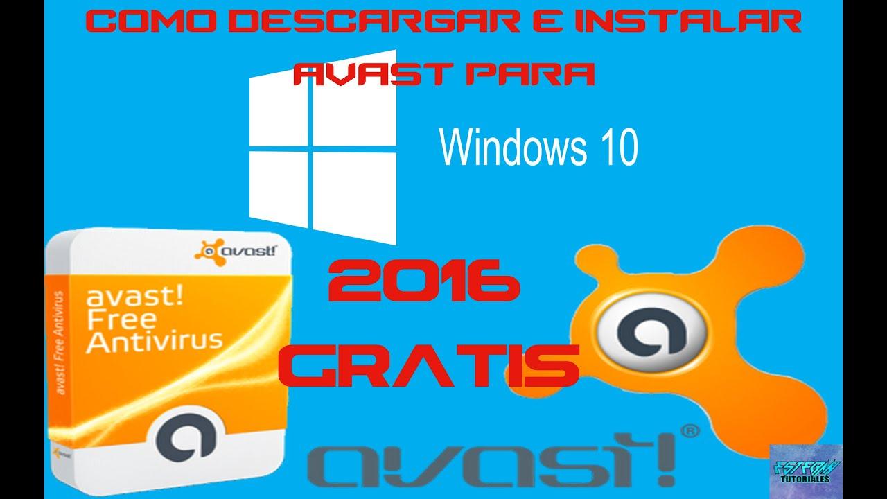 antivirus para windows 10 gratis