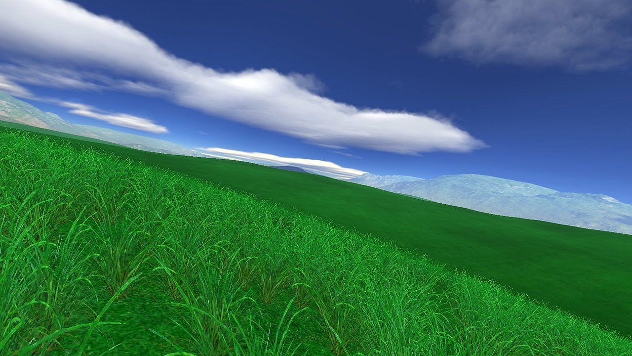 Green Fields 3D Screensaver for Windows HD - YouTube