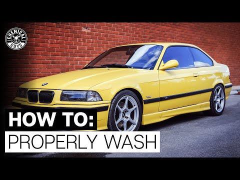 Back to the Basics of Detailing: How To Properly Wash & Strip Paint! - Chemical Guys