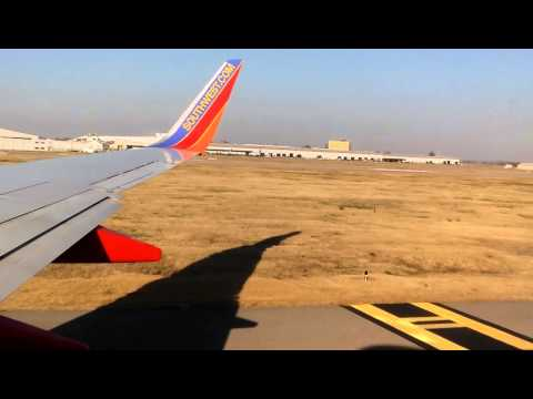 Takeoff from Nashville International Airport (BNA)