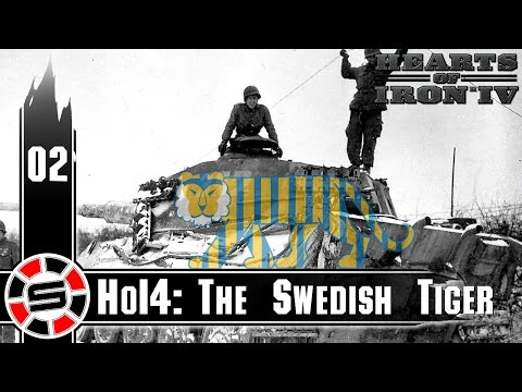 HOI IV ~ The Swedish Tiger Mod ep02 ~ The Northern Lights Faction
