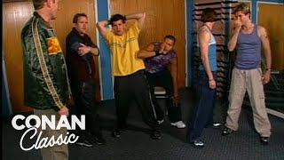 "Conan Forms The Boy Band Dudez A-Plenti - ""Late Night With Conan O'Brien"""