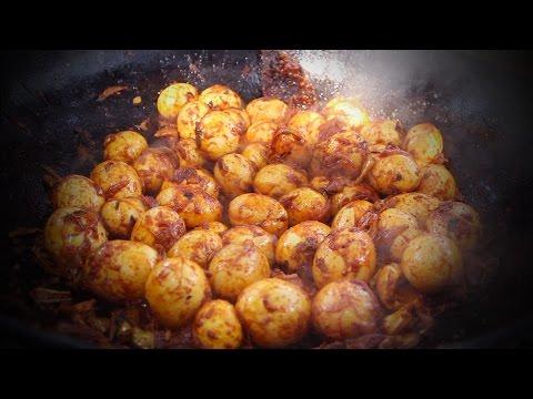 My Grandma Village Style Egg Curry Recipe    Myna Street Food    Food Info