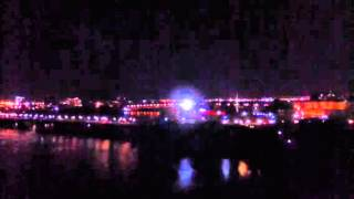 Samuel de Champlain 400th Anniversary Light Show Clip 9 19