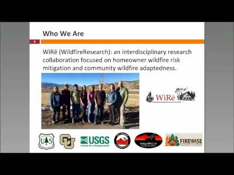 The Wildfire Research (WiRe)Team: Infusing social science into wildfire education programs