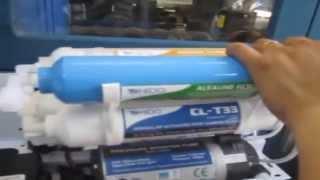 Hướng dẫn lắp đặt lõi lọc nâng cấp cho máy lọc nước RO Ohido