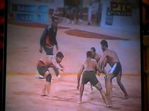 Kabaddi world cup 2 (2011) Usa V/s Pakistan Travel Video