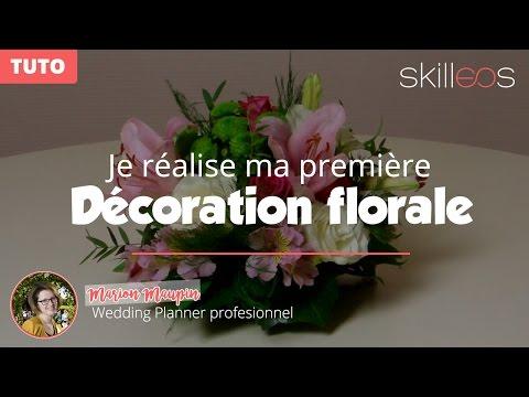 [TUTO] Je créé mon premier centre de table floral rond pour mariage !
