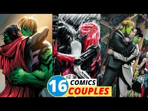 16 Marvel & DC Gay Couples (Comics)