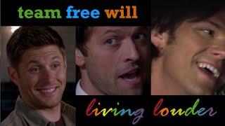 Living Louder | Team Free Will | SPN