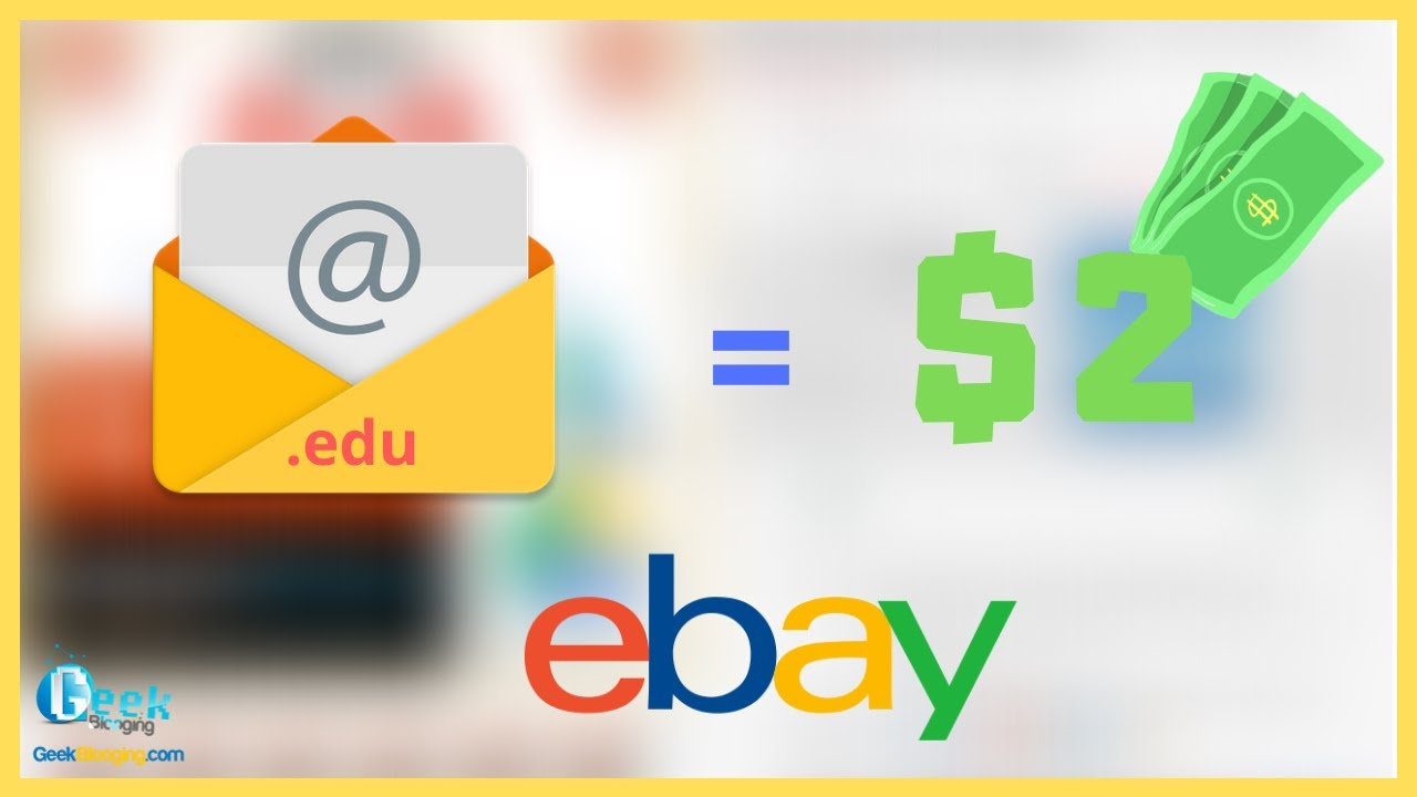 How To Earn Money Selling Digital Products On Ebay Edu Email Youtube