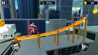 BMX Bike Stunt 2018 : Tricky Bicycle parkour Game - Gameplay Android games