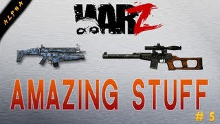 WarZ | Amazing Weapons & Gadgets !! (VSS, FN SCAR, Scope X10, NVG...)