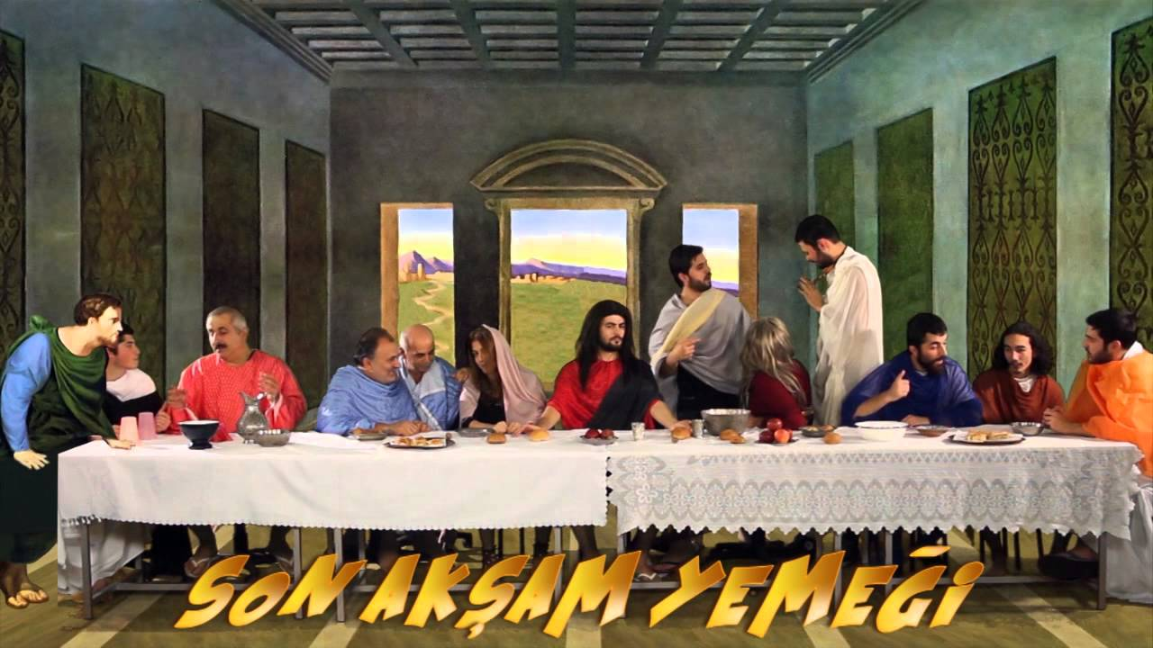 Son Akşam Yemeği - The Last Supper Teaser - YouTube Da Vinci Mona Lisa