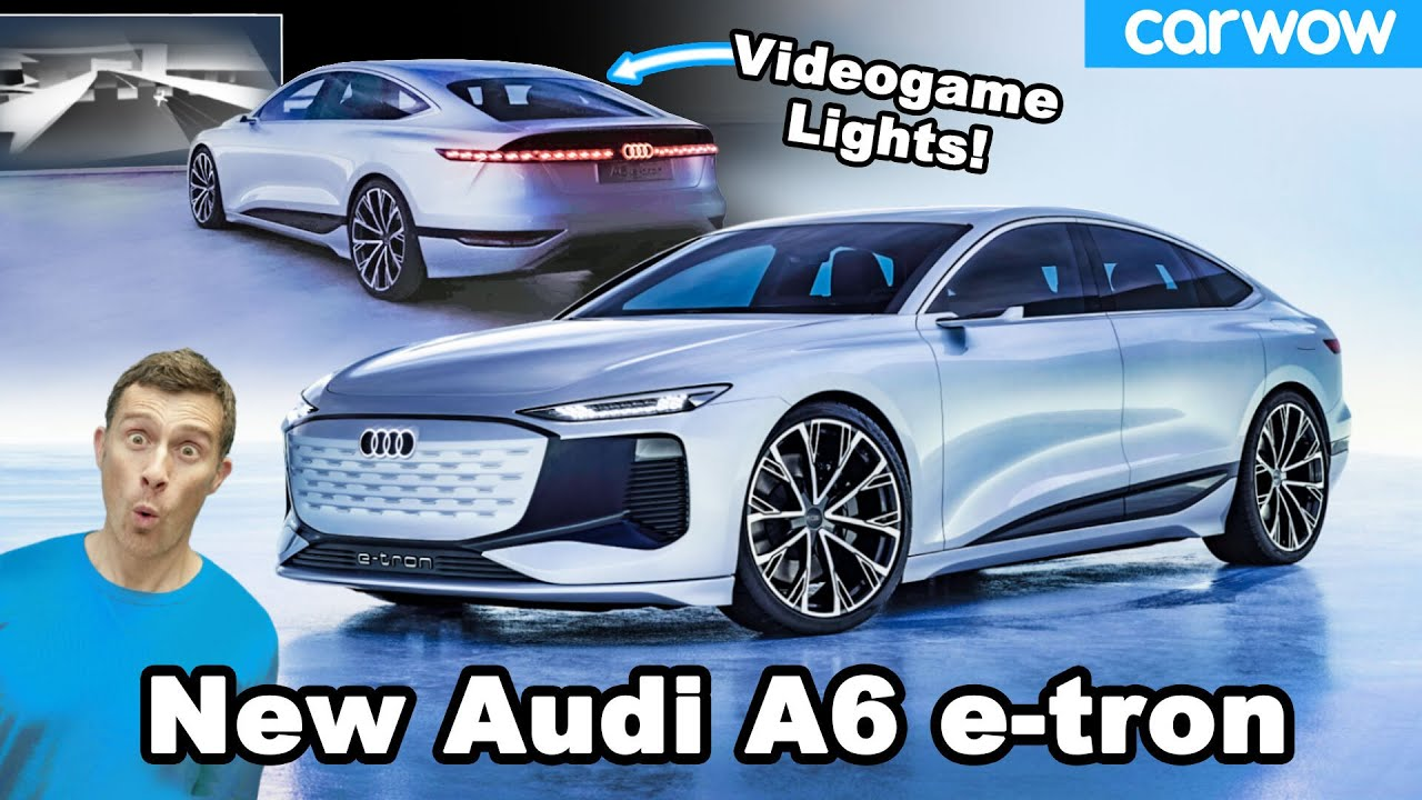 Audi Concept Car's Headlights Can Project Video Games Onto ...