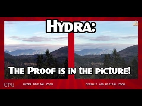 Best iOS Camera App - Hail Hydra Review