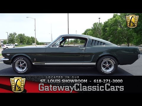 1965 Ford Mustang 2+2 Fastback Stock #7732 Gateway Classic Cars St. Louis Showroom
