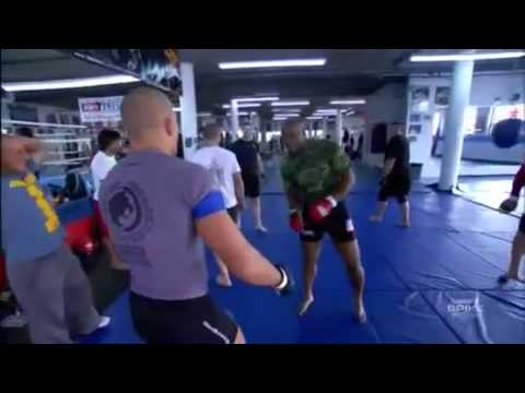 Georges St. Pierre Training With Rashad Evans