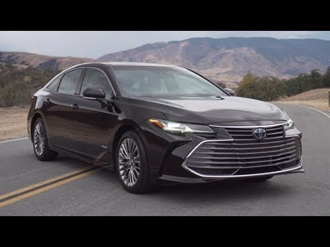2019 Toyota Avalon Limited Hybrid B-roll