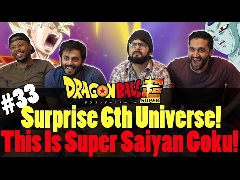 Dragon Ball Super ENGLISH DUB - Episode 33 - Group Reaction