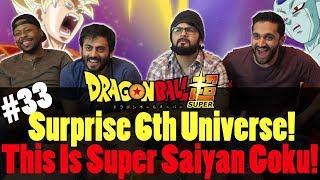 Dragon Ball Super ENGLISH DUB - Episode 33 - Group Reaction
