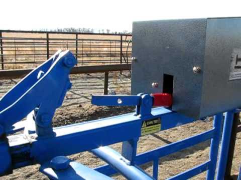 Remote Gate Man Manual Roping Chute Opener Up Close Avi