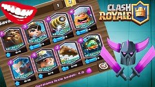 Full Efsanevi Deste İle Savaştım Clash Royale
