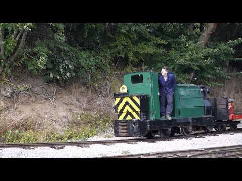 Leighton Buzzard Narrow Gauge Railway September 2013 Gala (Saturday) Diesel Loco Footage