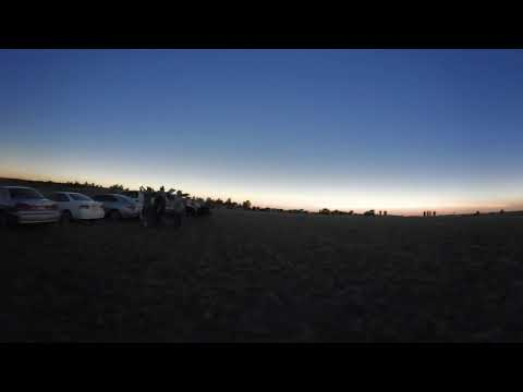 2017 Total Eclipse in 4K - Guernsey State Park, WY