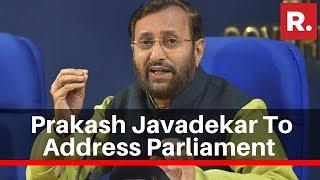 Environment Minister Prakash Javadekar To Address Parliament Over Delhi Air Pollution