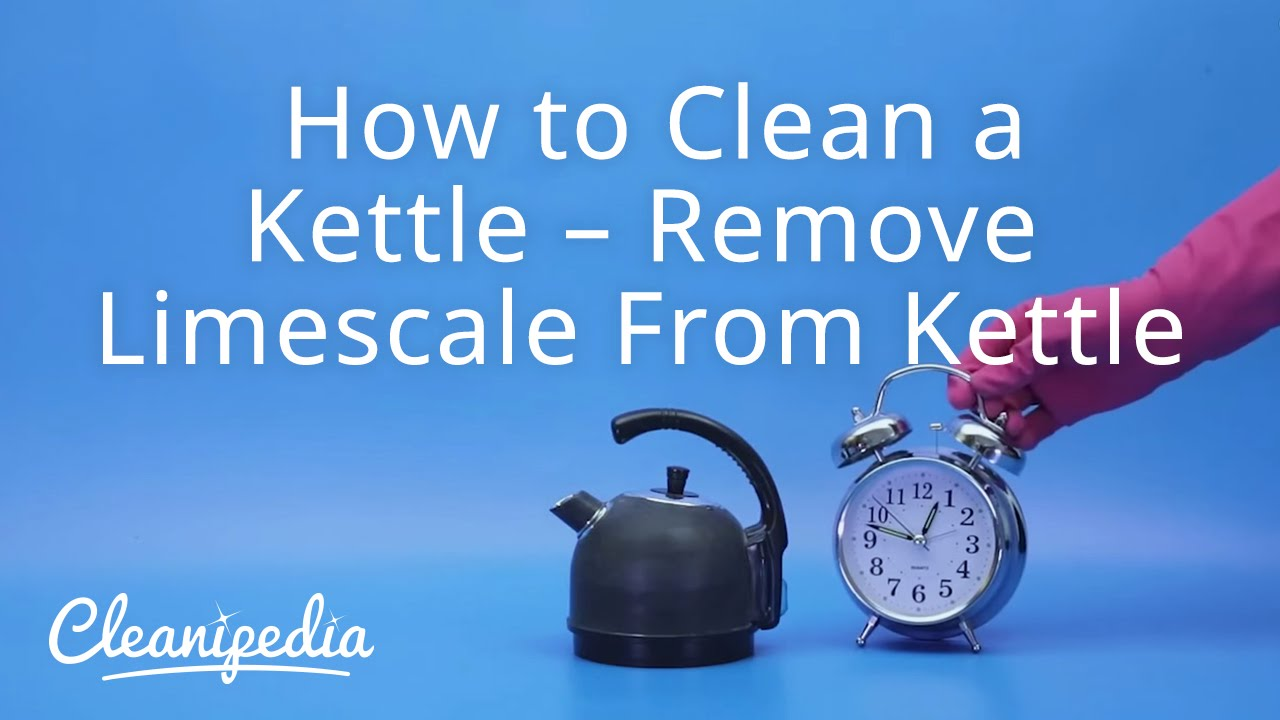 How To Remove Limescale From Kettle >> How to Clean a Kettle – Remove Limescale From Kettle - YouTube