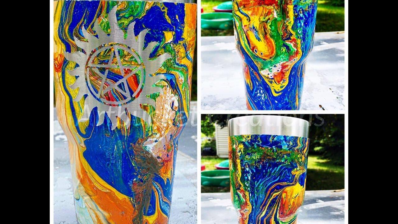 DIY Swirl Painting/ \