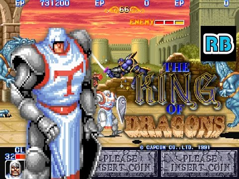 1991 [60fps] The King of Dragons Cleric Nomiss ALL