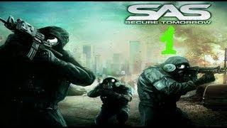 SAS SECURE TOMORROW PC - LET´S PLAY CAPITULO 1 EN ESPAÑOL