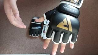 Review of MMA gloves RDX Hayabusa