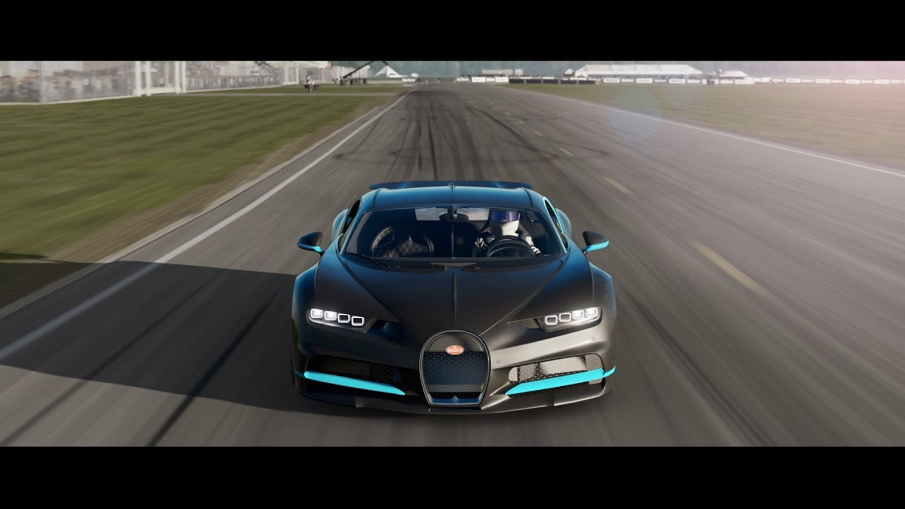 Forza 7 - Bugatti Chiron - Top Gear Lap! - YouTube