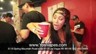 Best Vape Las Vegas; Grand Opening Yosi Vapor Boutique w/ Genevieve Chanelle