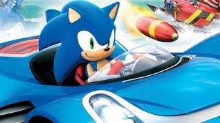 Sonic & All Stars Racing Transformed Movie Game for Kids - Sonic - Cartoon Games HD