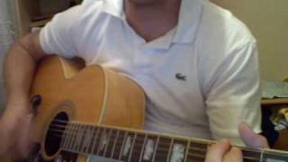 help by the beatles as covered by noel gallagher acoustic guitar lesson / tutorial