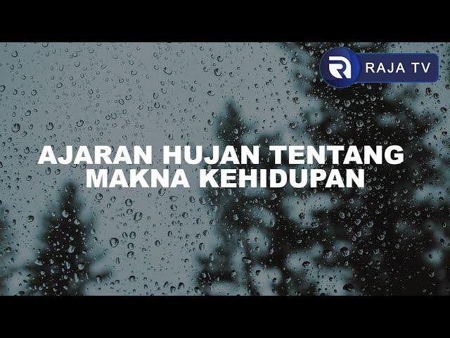 Musikalisasi Puisi  - Ajaran Hujan Tentang Makna Kehidupan [Aksara Langit 7] Oleh Ovi Siti Roviah A