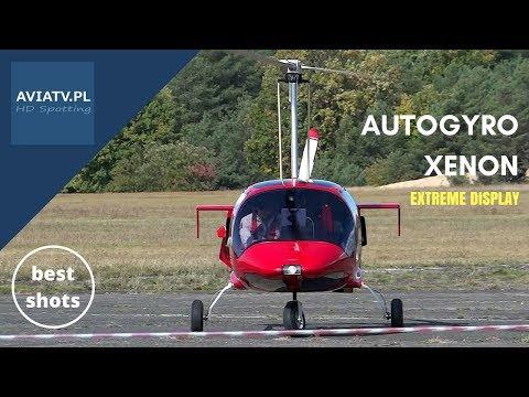 Autogyro XENON - extreme display