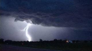 Supercell Thunderstorm & Evening Lightning- McCook, NE June 8th, 2007