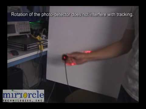 3D Tracking and Position Measurement with MEMS Micromirrors