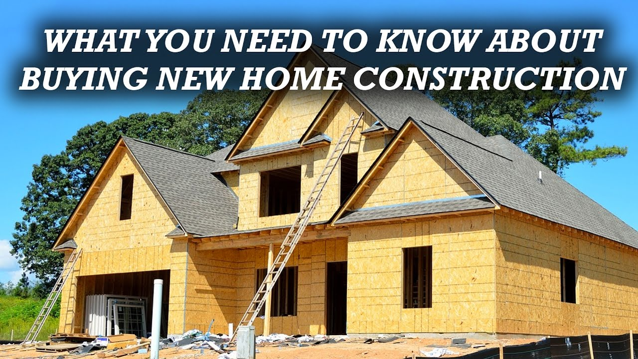 What to know before buying new home construction toll - What to know when building a house ...