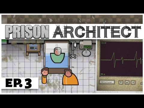 Prison Architect - Ep. 3 - The Palermo Fire! -  Story Mode Chapter 2 -  Let's Play [Sponsored]