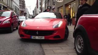 MATTE ORANGE Ferrari FF - Details & Driving Scenes