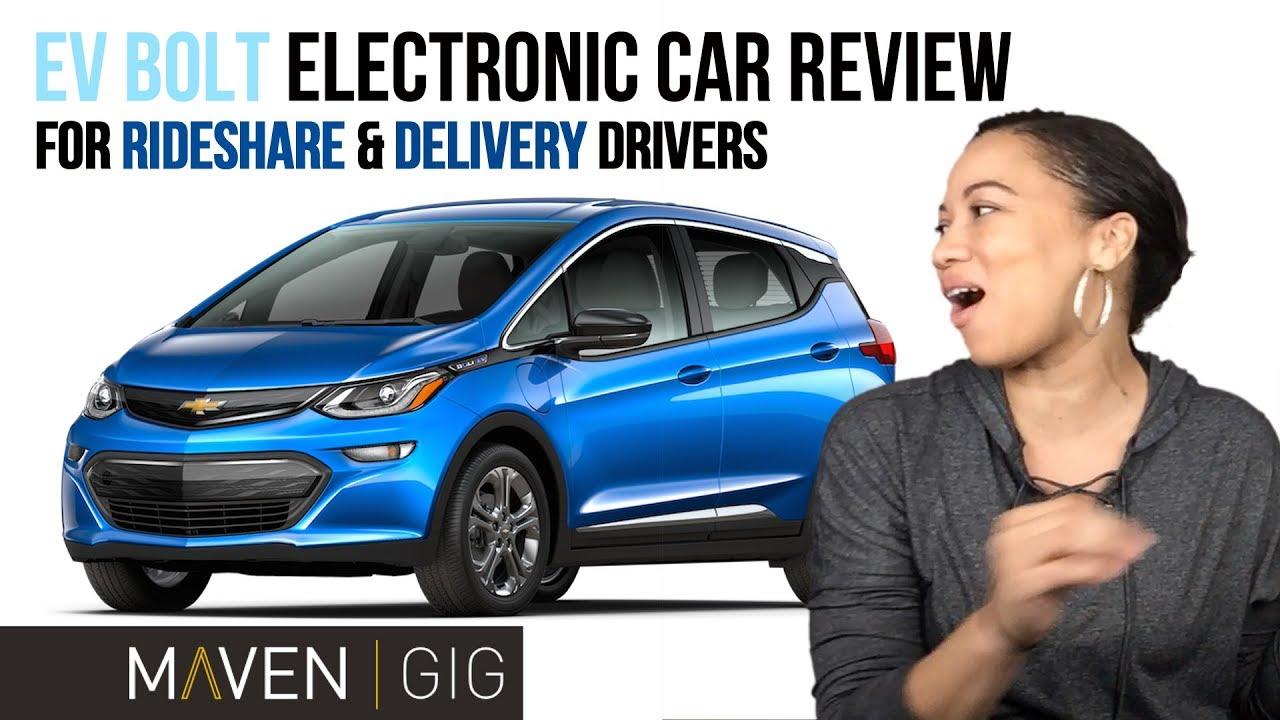 EV Bolt/Maven Gig Vlog Review 4 Rideshare & Delivery Drivers