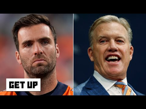 Is Joe Flacco the answer for John Elway and the Broncos at QB?   Get Up