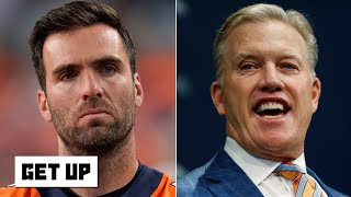 Is Joe Flacco the answer for John Elway and the Broncos at QB  Get Up