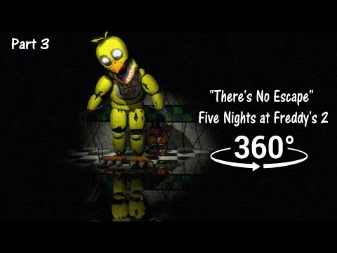 "360°| ""There's No Escape"" - Five Nights at Freddy's 2 short [SFM] (VR Compatible) Part 3 thumbnail"
